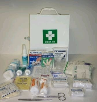 FIRST AID KIT METAL CABINET GMS100 SMALL