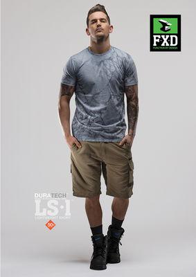 FXD LS1 Duratech Light Weight Shorts