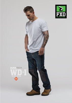 FXD WD1 Duratech Work Denim