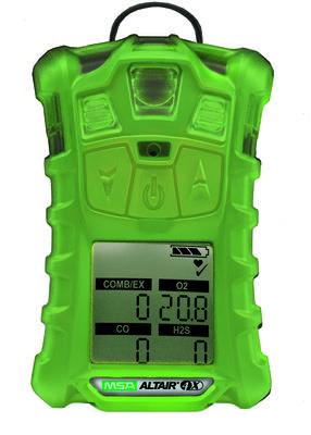 MSA 10110450 ALTAIR 4X GAS DETECTOR