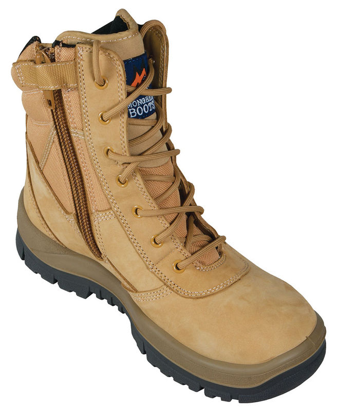 Mongrel 251050 High Leg Wheat Zip Sider