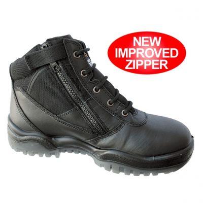 Mongrel 261020 Black Zip Sider Boot
