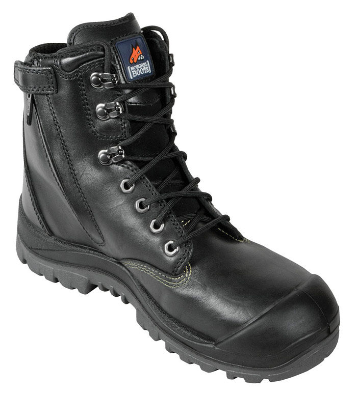 Mongrel 561020 High Leg Black BC Zip Sider