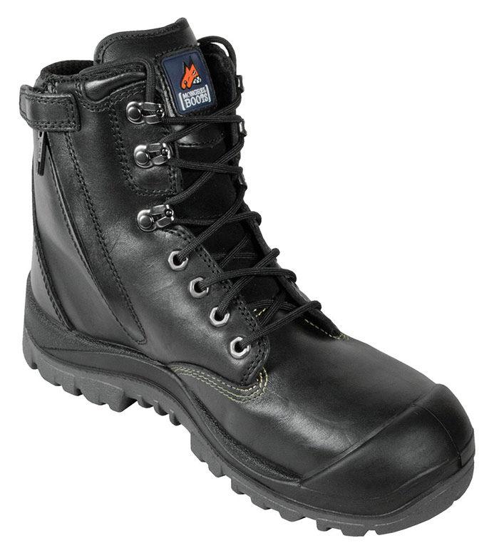 Mongrel 561020 High Leg Black BC Zip Sider