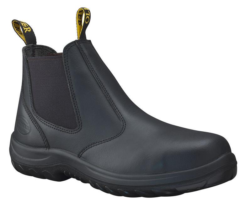 Oliver 34620 Black Elastic Sided Boot