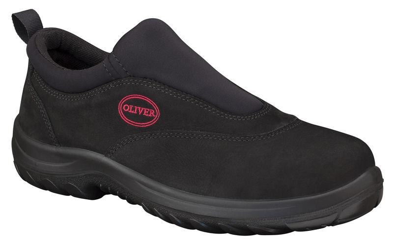 Oliver 34 610 Black slip on sports shoe