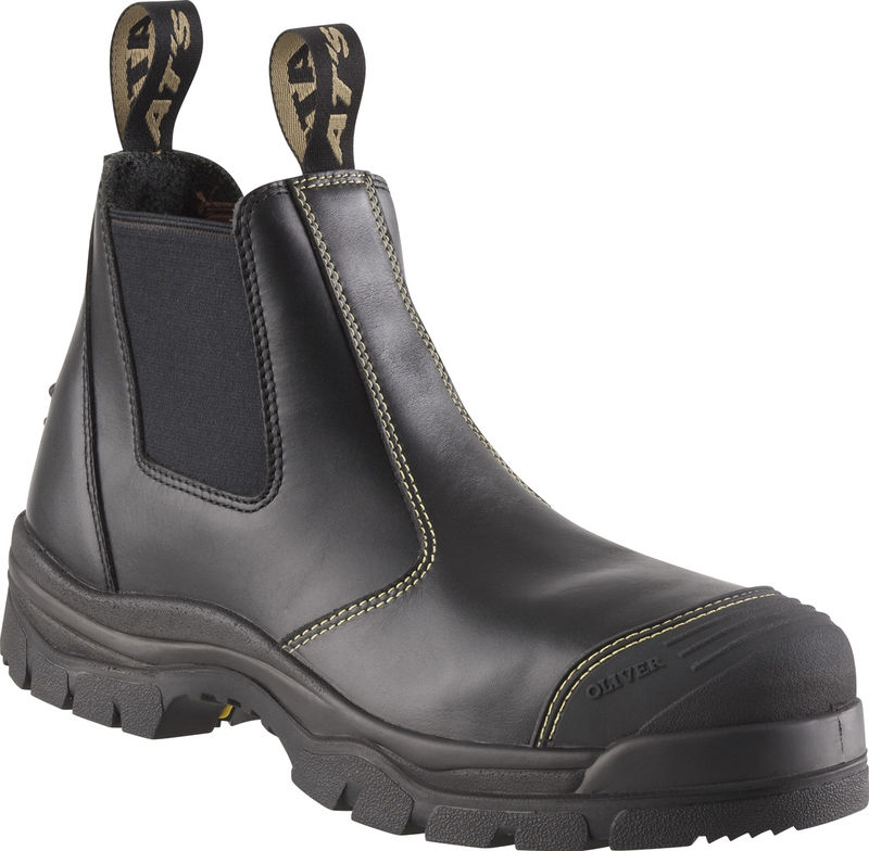 Oliver 55227 Black Elastic Sided Boot