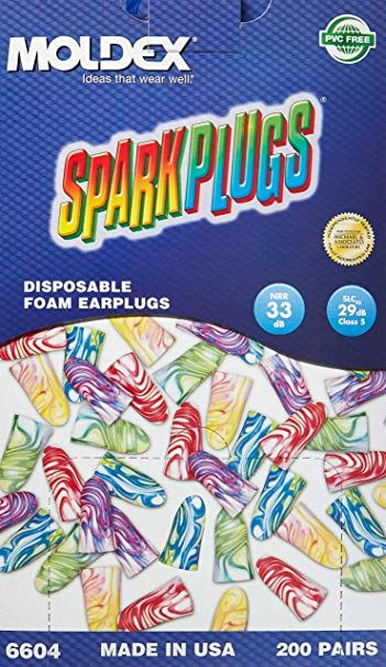 SparkPlugs Foam Ear Plugs 6604