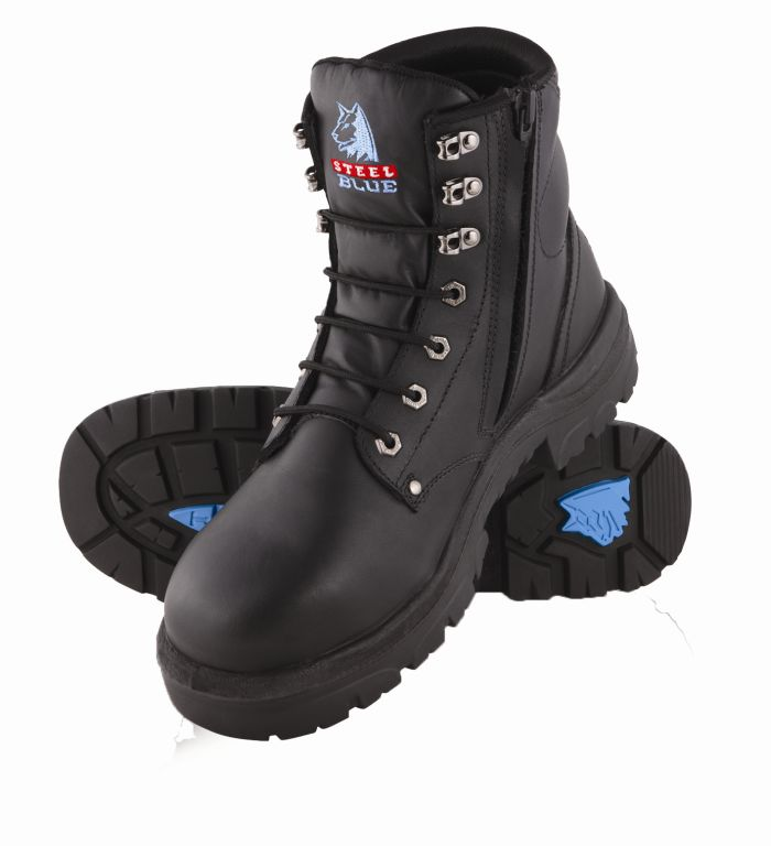 Steel Blue 312152  Argyle Zip Side Safety Boot