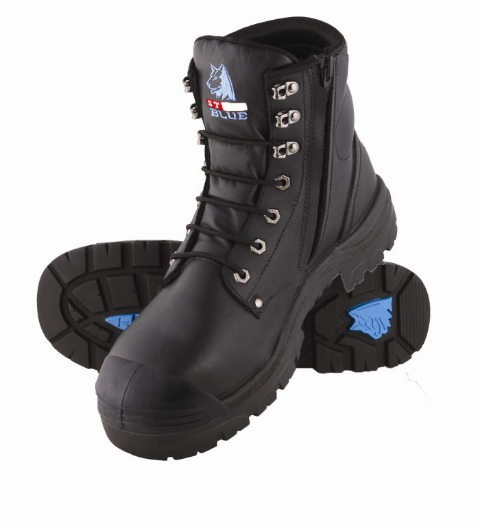Steel Blue 332152  Argyle Zip Side BC Safety Boot