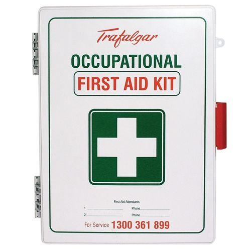 Trafalgar WM1 Workplace Wall Mount ABS Plastic First Aid Kit 101559