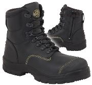 "Oliver 55-245Z 150mm (6"") Zip sided boot"