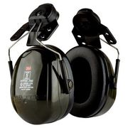 3M PELTOR Deluxe H7 Series Helmet Attached Earmuff H7P3G 290