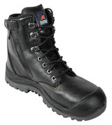 Mongrel 561020 High Leg Black B/C Zip Sider