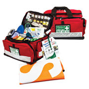 National Workplace - Outdoor & Remote First Aid Kit - Large Portable Soft Case