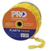 Prochoice PCY825 Yellow Plastic Chain